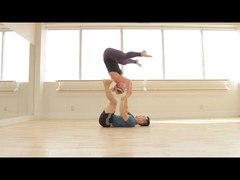 Acro Yoga: Snap Crackle Pops!