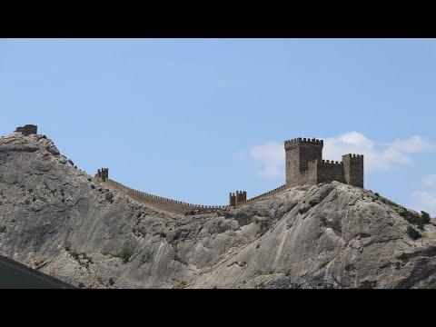 Генуэзская крепость. Судак. Из Питера в Крым на машине ч.5
