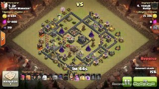 Clash of clans queen walk (karma saldırı)