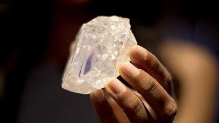 Крупнейший в мире алмаз продадут на аукционе (новости)