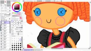 Drawing Bea spells-a-lot Lalaloopsy
