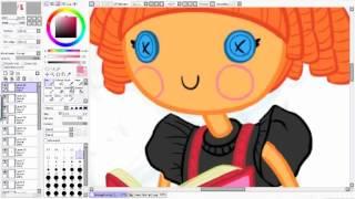 Drawing Bea spells-a-lot Lalaloopsy