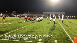 Football Highlights: Roland-Story at Union