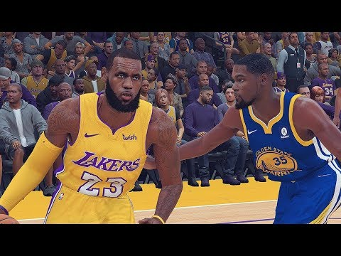 NBA 2K19 ROSTERS│WARRIORS VS LAKERS │LeBRON IN LA!