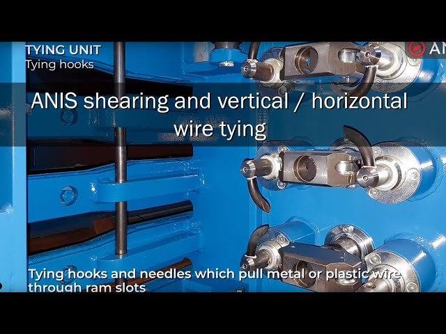 ANIS Shearing and vertical/horizontal wire tying unit