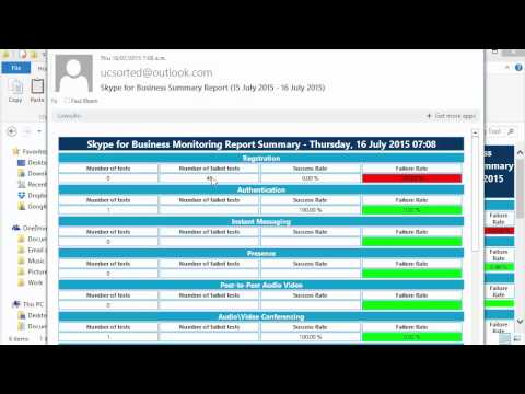 Skype For Business Monitoring Tool Gets Daily Report Function - By UCSorted.com