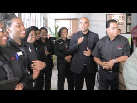 Largest Pizza Hut in English Speaking Caribbean Opens in San Fernando - May 19, 2016