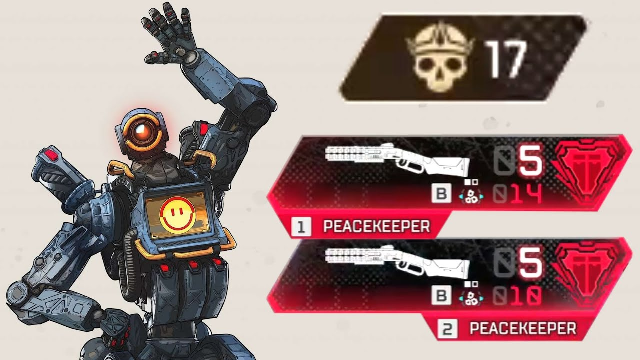 My Best DUAL Peacekeeper Match in Apex Legends thumbnail