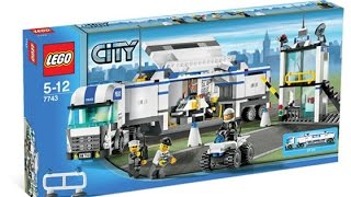 Lego 7743 Police Command Center City Police (instruction Booklet)
