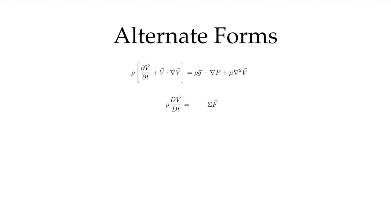 Derivation of Navier Stokes: Newtonian Fluid