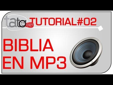 Descarga La Biblia -HABLADA- MP3 - en Español y Gratis - RECURSOS 01- tato0727