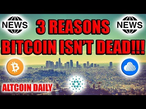 3 Reasons Why Bitcoin Isn't Dead!! Will Bitcoin Bottom Out At $5,000?  [Cryptocurrency News]