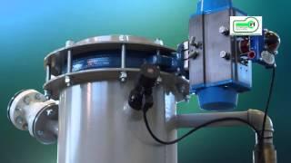 Станция фасовки клапанных мешков АЭРОПАК ТУРБО. Сборка и настройка оборудования на производстве.