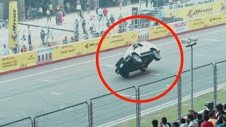 Tractor Wheelie 😱 | Never Seen Stunts Like This| Buddh International Circuit