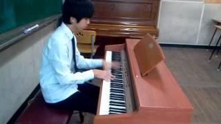 피아노배틀때쳤던거