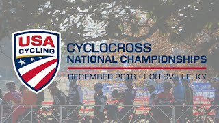 2018 USA Cycling Cyclocross National Championships...