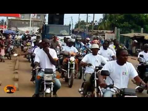 La caravane contre l'impunité sillonne Lomé [20/08/2012]