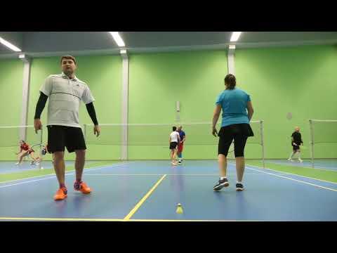 2019-01 Badminton - 5. Ostravský kanár MIXY - Záznam utkání Plecák/Hlinková vs. Lusczak/Klapková