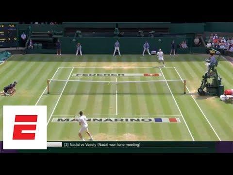 Wimbledon 2018 Highlights: Federer, Nadal, Serena Williams advance to Quarterfinals   ESPN