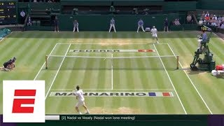 Wimbledon 2018 Highlights: Federer, Nadal, Serena Williams advance to Quarterfinals | ESPN