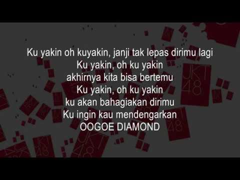 JKT48 - Oogoe Diamond KARAOKE (Male Version)