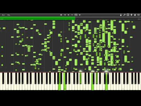 (Star Wars) Cantina Song #1 - mp3 to midi - Synthesia