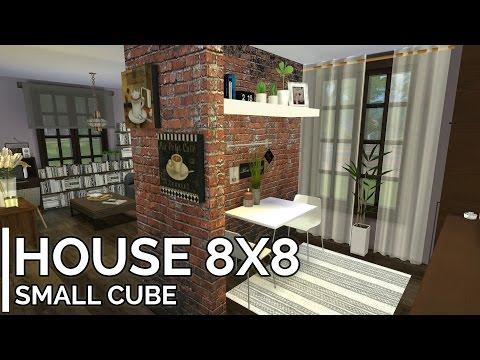 "The Sims 4 Speedbuild 8x8 #14 ""Kostka dla dwojga"" + MODY/CC"