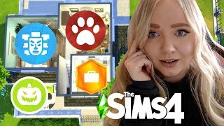 EVERY ROOM IS A DIFFERENT PACK | Sims 4 Build Challenge