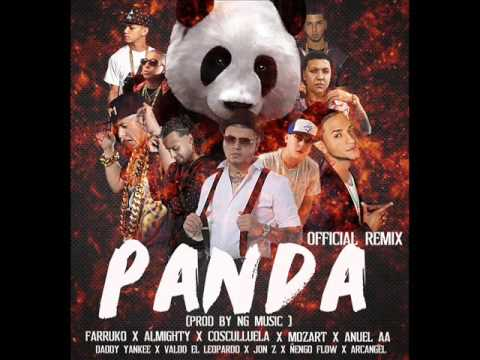 PANDA THE FINAL REMIX - FARRUKO X ALMIGHTY X VALDO X JONZ  Y MAS (PROD BY NG MUSIC)