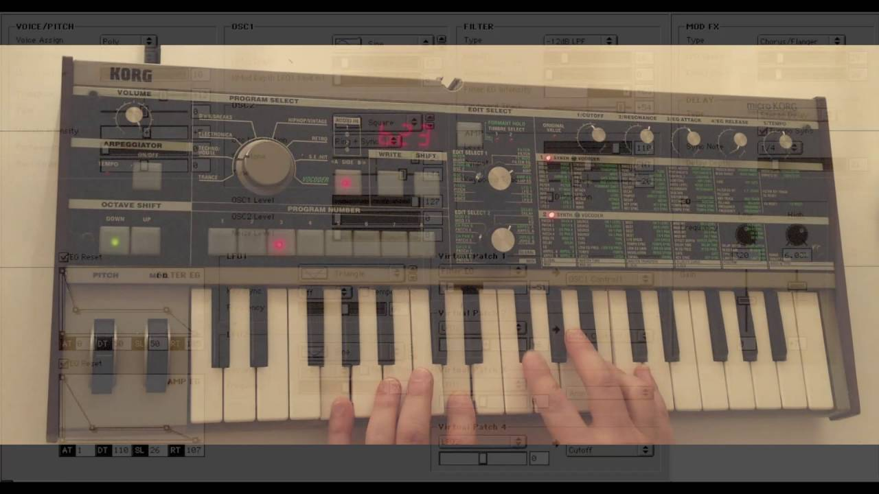 Microkorg 3 Custom Patches Explained ch1