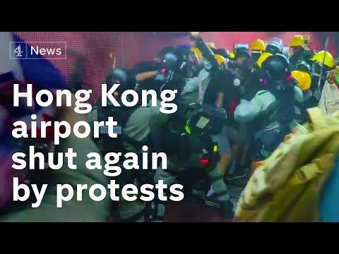 Hong Kong: Violent