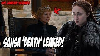 Sansa 'LEAKED' Death Scene! Game Of Thrones Season 8 (Leaked Scenes)