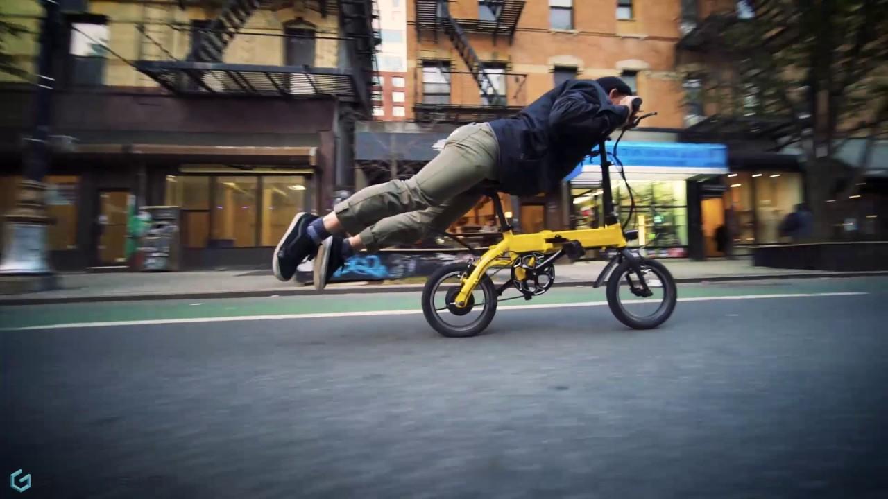 Cruising On An Electric Bike In Nyc Ride Genesis