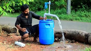 WATER PUMP MAKING WITH HAND DRILL MACHINE | M4 TECH |