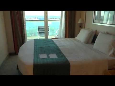 Balcony Stateroom Tour on Royal Caribbean Freedom of the Seas Cruise Ship