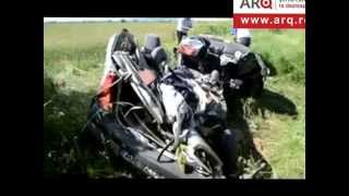 Doi tineri morţi în accident lângă Ineu