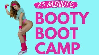 25 Minute Booty Boot Camp HIIT Toning Fitness Class with STARLETTE JORDANSON