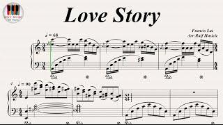 Love Story - Francis Lai, Piano