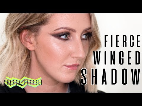 Fierce Winged Instagram Makeup (was almost a disaster) | Sharon Farrell