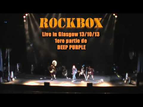 PARANOID par ROCKBOX, live in Glasgow 2013