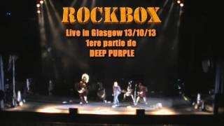 PARANOID par ROCKBOX, live in Glasgow 2013