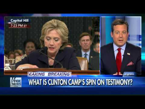 Benghazi committee didn't land a hand on Hillary?