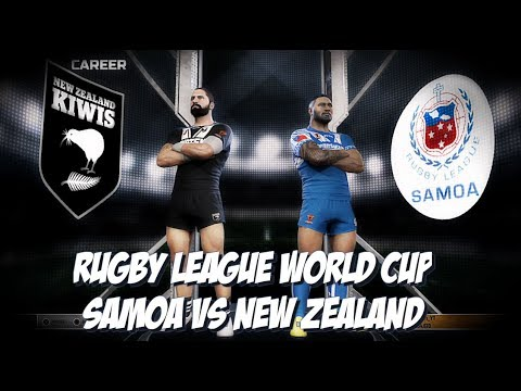 Rugby League Live 4 - Samoa World Cup Campaign (Round 1)