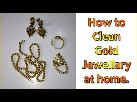How to Clean Gold Jewellery at Home || Simple Technique