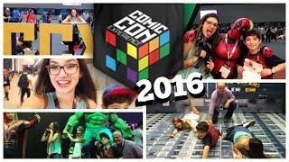 FOMOS NA COMIC CON EXPERIENCE 2016!    +Comprinhas #CCXP