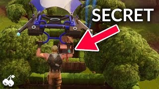 FORTNITE SEASON 6 - Secret Bunker in Wailing Woods