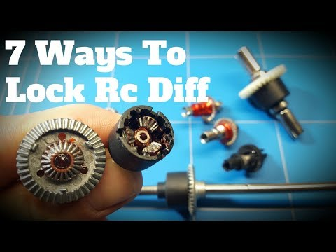 Wltoys K989 Drift Project EP3 7 Ways How To Lock Rc Diff For Drifting Or Slip Differential Problems