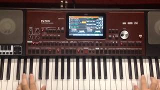 Korg Pa700 Oriental styles and sounds (Part1)