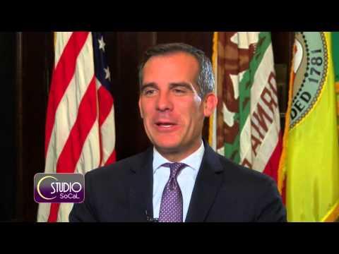 Exclusive Interview with LA Mayor Eric Garcetti - Studio SoCal