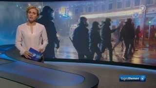 ISIS-Sympathisanten in Hamburg - Bericht der Tagesthemen vom 08.10.2014